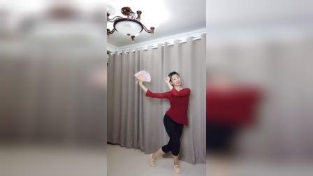 赵璞玉原创舞蹈《何必西天万里遥》正背面演示及分解_超清