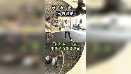 解密中国散打与传统武术接腿摔接腿中的一些小秘密