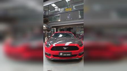 改装故事《车主说》 - 美式肌肉福特六代野马