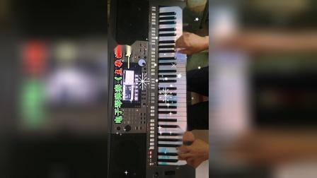 电子琴弹奏《点歌的人》分享