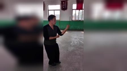 宋氏形意拳名家赵川辉先生演示五行拳炮拳