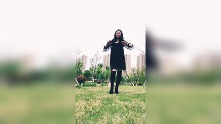 千慧广场舞自由步