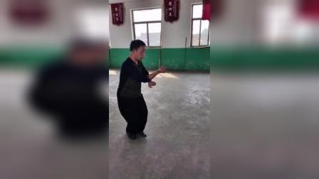 宋氏形意拳名家赵川辉先生演示五行拳横拳