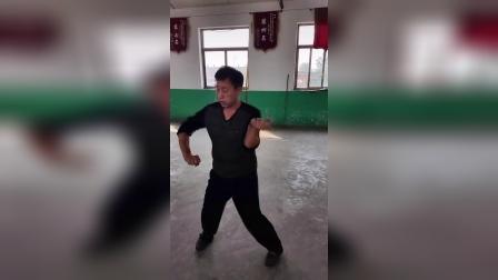 宋氏形意拳名家赵川辉先生演示五行拳钻拳