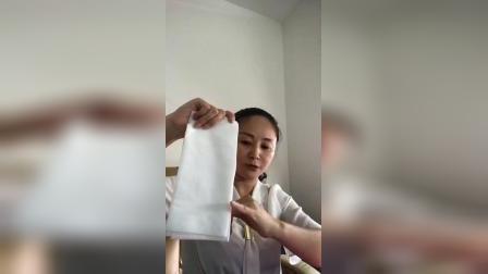 屈老师讲正确用洗脸巾