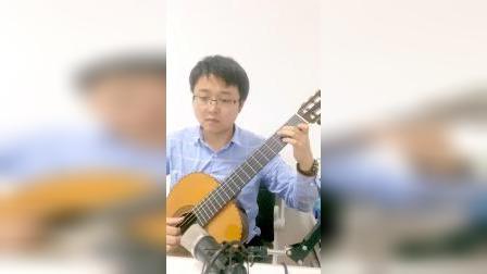 古典吉他独奏 理查德克莱德曼经典钢琴曲《水边的阿迪丽娜》