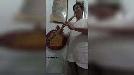 平沙落雁~文松手製經典老桂竹F調簫