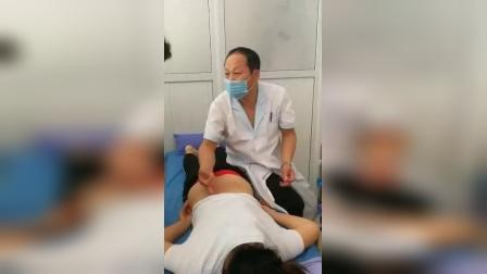 锤疗锤正骨治疗腰椎间盘突出手法教学_标清