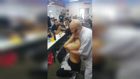 达摩正骨108手治疗颈椎病胸椎正骨手法教学视频_高清
