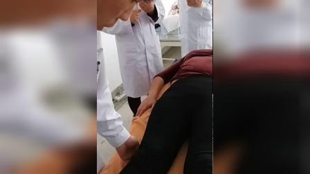 呼吸力柔性正骨减肥收胯缩阴手法实操演示教学视频_标清