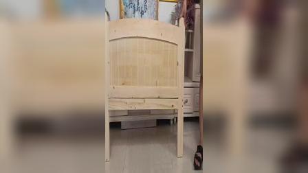 简易实木床安装视频