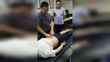张一圣柔性正骨快速治疗腰椎间盘突出腰椎疼痛不能弯腰手法_超清