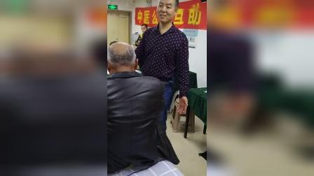 中医公益交流会柔性正骨治疗膝关节半月板损伤疼痛_超清