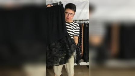 8-8水貂毛、包芯纱毛裙款式展示