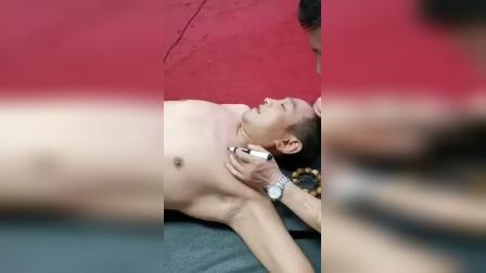 中医针灸松解筋膜治疗胸大肌紧张肩膀胳膊疼痛手法_标清