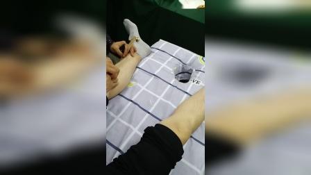 中医拍打治疗膝关节疼痛手法_超清