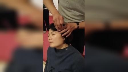 中医针灸治疗鼻炎蝶腭神经结针法_高清