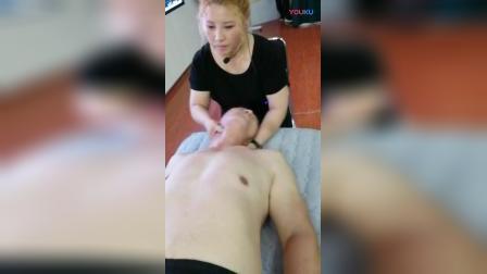周海燕拉筋治疗颈椎病手法教学实操_高清
