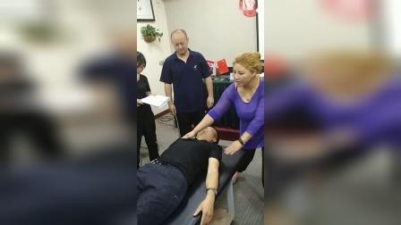 周海燕玄舒百通伸筋疗法全套动作演示手法教学讲解_超清
