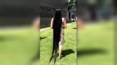 敏儿长发姐姐广场舞我  美丽的长发