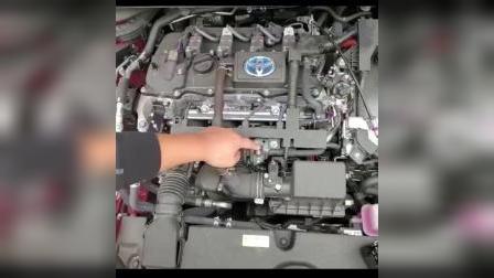 19新款卡罗拉双擎版发动机保护罩安装教程