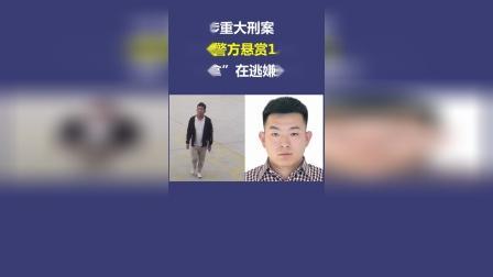 """涉重大刑案 山东警方悬赏10万""""捉拿""""在逃嫌疑人"""