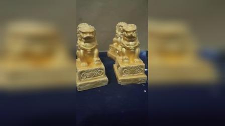 石膏工艺品摆件小狮子