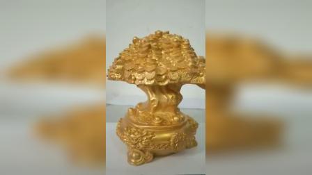 树脂摆件工艺品-发财树摆件