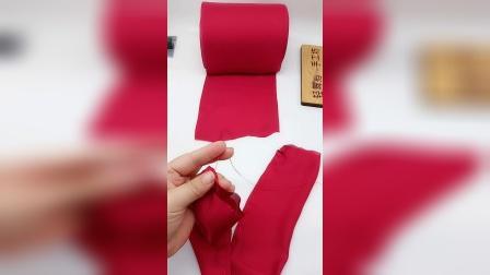 【34号】用丝带diy网红蝴蝶结 轻舞指尖手工坊34号发饰材料包教程