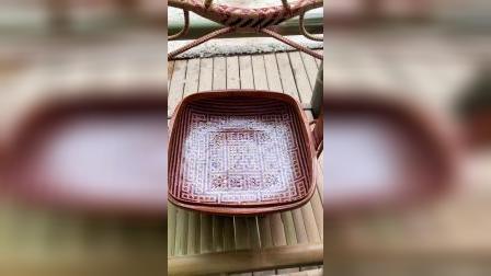 竹篮打水一场空,纯手工编织,精美的艺术品