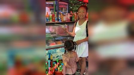 少儿:和姐姐一起吃冰粥