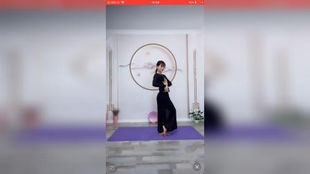 舞韵瑜伽【新女人花】分解教学~小丁老师直播11月3日