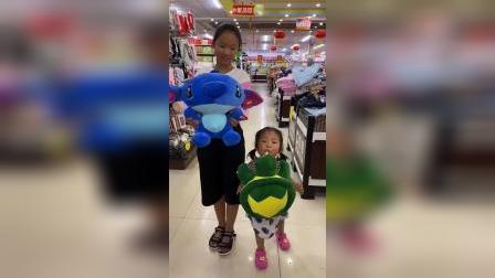 童年趣事:宝贝们又想买新玩具了