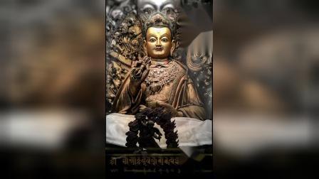 如活著般的蓮師佛像・心咒 ༀ༔ཨཱཿཧཱུྃ༔