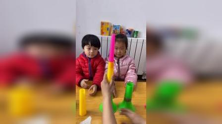 童年趣事:哈哈,妈妈安装玩具失败了