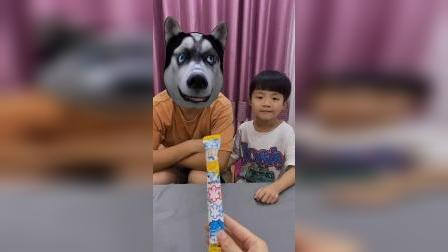 童年趣事:我们要懂得分享哦