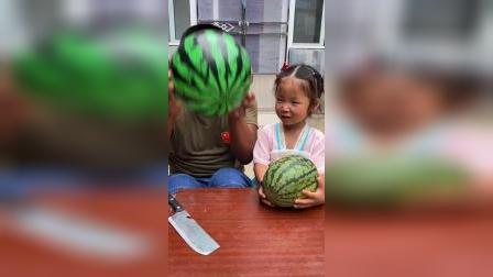 少儿:这是我买的大西瓜