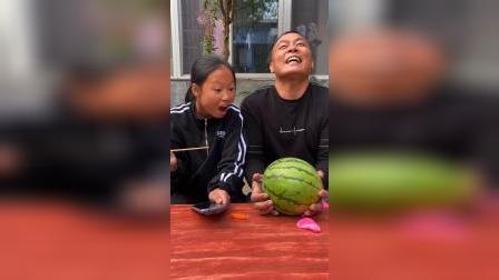 少儿:姐姐和爸爸好开心