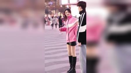 今日街拍,晨妍和黄锦鸿,有喜欢他们的吗?