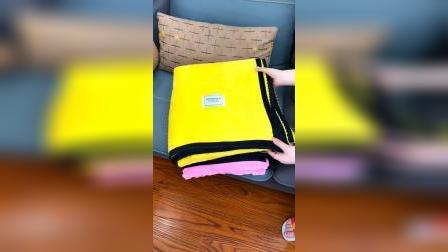 开箱:这个空调盖毯收到是很惊喜,质量没的说。