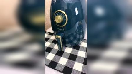 开箱:号称万物皆可炸的空气炸锅,有了它想吃什么随时做,特方便