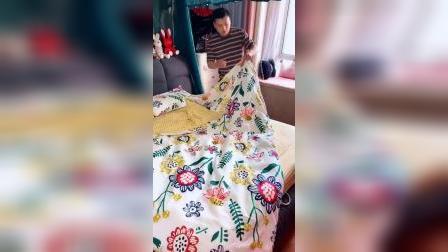 开箱:你家里的老公会帮你换床单吗?男人多做家务,婚姻会更幸福