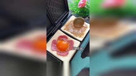 解锁三明治创意新吃法,糯糯叽叽的汤圆吃法