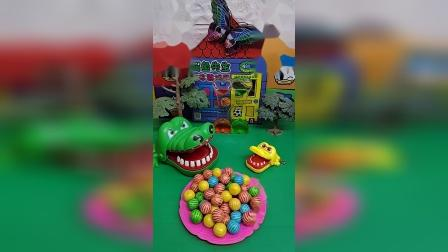 鳄鱼想吃糖,吃什么糖?
