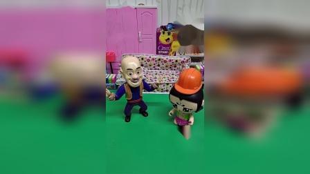 玩具故事:我告诉我妈,你抢我帽子。