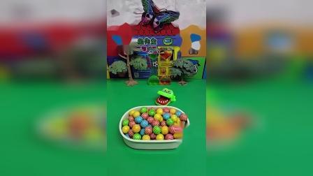 鳄鱼在吃糖果,吃了什么味的?