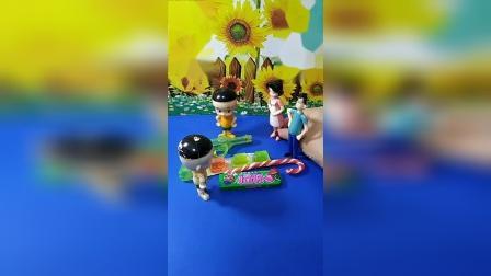 亲子幼教有趣玩具:怎么有两个大头呢