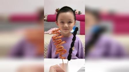 童年趣事:小晨,糖葫芦好吃吗