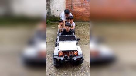 少儿:车子没电了,怎么回家