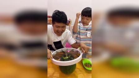 少儿:吃大西瓜啦